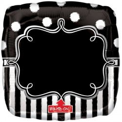 CHALKBOARD BIRTHDAY PARTY WRITE ON SHAPE P50 PKT