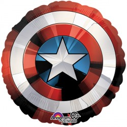 AVENGERS SHIELD SHAPE P38 PKT