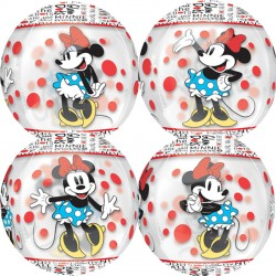 MINNIE MOUSE ROCK THE DOTS CLEAR ORBZ G40 PKT