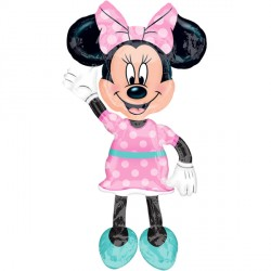 MINNIE MOUSE PINK POLKA DOT AIRWALKER P93 PKT