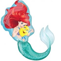 DISNEY PRINCESS LITTLE MERMAID SHAPE P38 PKT