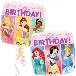 DISNEY PRINCESS DREAM BIG HAPPY BIRTHDAY STANDARD S60 PKT