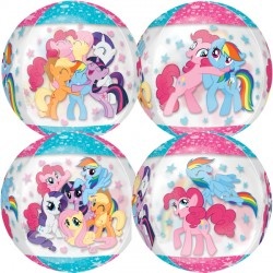 MY LITTLE PONY GANG CLEAR ORBZ G40 PKT