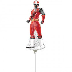 POWER RANGERS NINJA STEEL MINI SHAPE A30 INFLATED WITH CUP & STICK