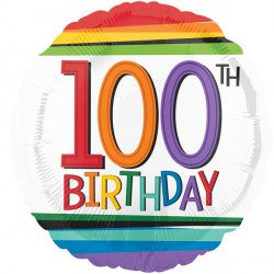 RAINBOW BIRTHDAY 100 STANDARD S40 PKT