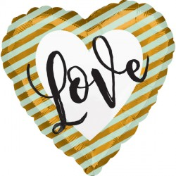 WEDDING LOVE STRIPES STANDARD S40 PKT