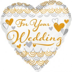 FOR YOU WEDDING HEART STANDARD S40 PKT