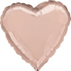 ROSE GOLD HEART STANDARD S15 FLAT A