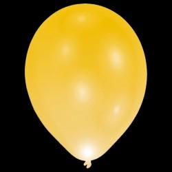 "BALLOOMINATE GOLD L.E.D BALLOONS 11"" (5CT X 12 PACKS)"
