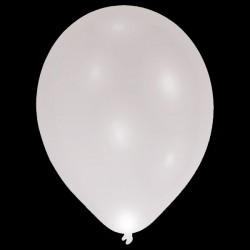 "BALLOOMINATE SILVER L.E.D BALLOONS 11"" (5CT X 12 PACKS)"