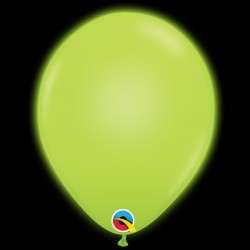 "Q-LITE GREEN L.E.D BALLOONS 11"" (5CT X 6 PACKS)"