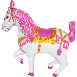 CIRCUS HORSE PINK VENDOR SHAPE FLAT