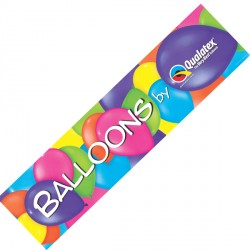QUALATEX BANNER 15cm X 61cm