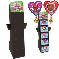 SING-A-TUNE EASEL DISPLAY BLACK (HOLDS 50 SING-A-TUNES)