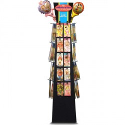 INFLATE-A-FUN FLOOR DISPLAY UNIT (HOLDS 400 INFLATE-A-FUN)