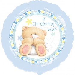 "FOREVER FRIENDS BLUE CHRISTENING 18"" SALE"