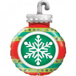 "SNOWFLAKE ORNAMENT 35"" SHAPE GROUP D PKT"