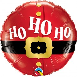 "HO HO HO SANTA'S BELT 18"" PKT IF"