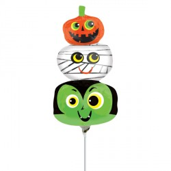 HALLOWEEN HEADS MINI SHAPE A30 FLAT