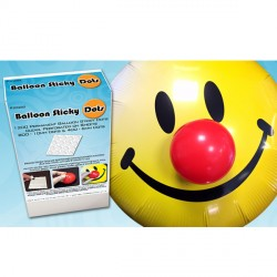 BALLOON STICKY DOTS 800 LARGE 10mm & 400 SMALL 6mm (1200 DOTS PER BOX)