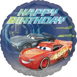 CARS 3 BIRTHDAY STANDARD S60 PKT