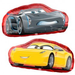 CARS 3 CRUZ & JACKSON SHAPE P38 PKT