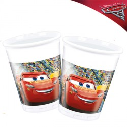 DISNEY CARS 3 PLASTIC CUPS (8CT X 24 PACKS)