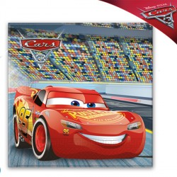 DISNEY CARS 3 NAPKINS (20CT X 30 PACKS)