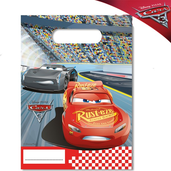 Cars RSN Pack of 30 Party Bags and 40 Napkins Disney Tableware