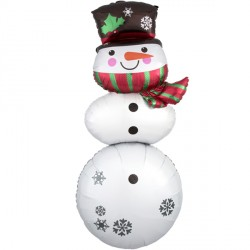 "SNOWMAN STACKER MULTI-BALLOON P70 PKT (25"" x 61"")"