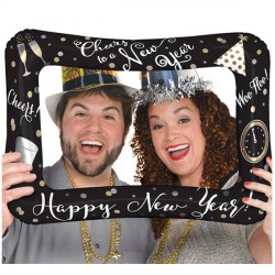 "NEW YEAR SELFIE FRAME S60 PKT (23"" x 16"")"