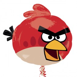 "ANGRY BIRDS RED BIRDS STREET TREAT SHAPE FLAT (21"" x 20"") (10CT)"