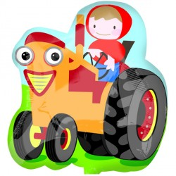FARM TRACTOR STREET TREAT SHAPE FLAT