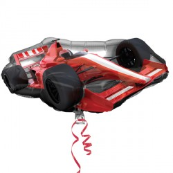 "FORMULA ONE CAR STREET TREAT SHAPE FLAT (30"" x 14"") (10CT)"