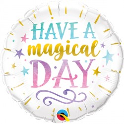 "HAVE A MAGICAL DAY 18"" PKT"