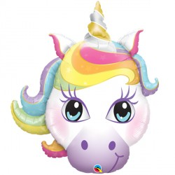 "MAGICAL UNICORN 38"" SHAPE GROUP B PKT"