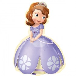 "SOFIA THE FIRST STREET TREAT SHAPE FLAT (17"" x 26"") (10CT)"