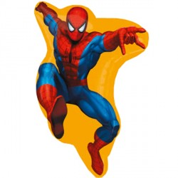 "SPIDER-MAN STREET TREAT SHAPE FLAT (16"" x 23"") (10CT)"