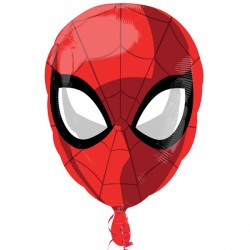 SPIDERMAN HEAD STREET TREAT STANDARD FLAT