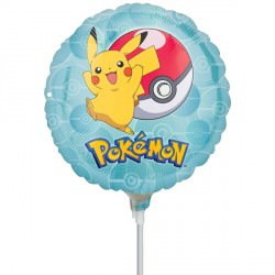 "POKEMON 9"" A20 INFLATED WITH CUP & STICK"
