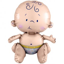 SITTING BABY MULTI BALLOON A70 PKT