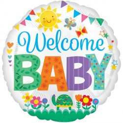 WELCOME BABY CUTE ICONS STANDARD S40 PKT