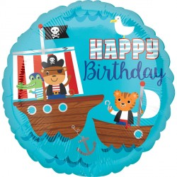 PIRATE SHIP BIRTHDAY STANDARD S40 PKT