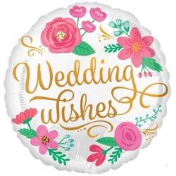 WEDDING WISHES GOLD SWIRLS STANDARD S40 PKT