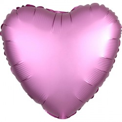 FLAMINGO SATIN LUXE HEART STANDARD S15 FLAT A