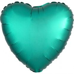 JADE SATIN LUXE HEART STANDARD S15 FLAT A