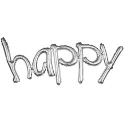 HAPPY SILVER FREESTYLE PHRASE SHAPE G40 PKT