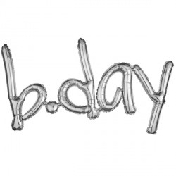 B.DAY SILVER FREESTYLE PHRASE SHAPE G40 PKT