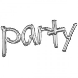 PARTY SILVER FREESTYLE PHRASE SHAPE G40 PKT