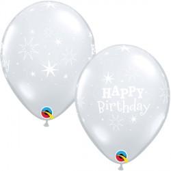 "SPARKLE BIRTHDAY 11"" DIAMOND CLEAR (25CT) YGX"